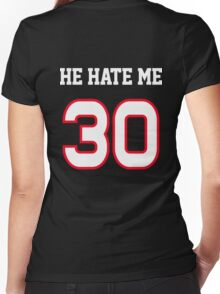 He Hate Me Women's Fitted V-Neck T-Shirt