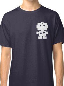 Robot - steel & white Classic T-Shirt