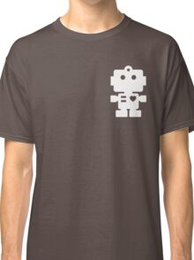Robot - steel & white Classic T-Shirt