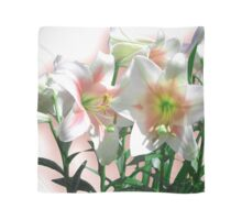 Blooming Peach Lilies Scarf