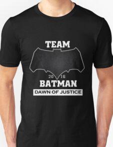 Team Dawn Of Justice Black Unisex T-Shirt