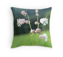 Princesses On A Field Throw Pillow