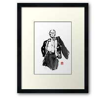 king of siam Framed Print