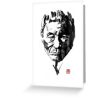 takeshi kitano Greeting Card