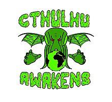 Cthulhu Awakens Photographic Print