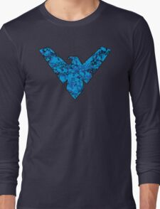 Nightwing - DC Spray Paint Long Sleeve T-Shirt