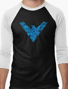 Nightwing - DC Spray Paint Men's Baseball ¾ T-Shirt