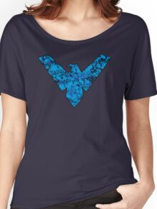 Nightwing - DC Spray Paint Women's Relaxed Fit T-Shirt