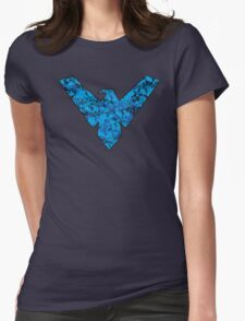 Nightwing - DC Spray Paint Womens Fitted T-Shirt