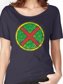 Martian Manhunter - DC Spray Paint Women's Relaxed Fit T-Shirt