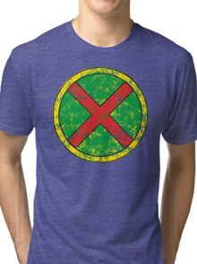 Martian Manhunter - DC Spray Paint Tri-blend T-Shirt