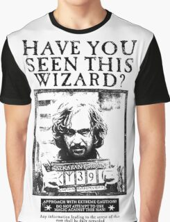 Have You Seen This Wizard Graphic T-Shirt