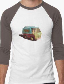 Mystery Machine Men's Baseball ¾ T-Shirt