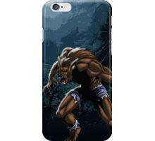Midnight Werewolf iPhone Case/Skin