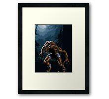 Midnight Werewolf Framed Print