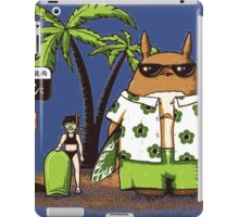 Totoro Holiday iPad Case/Skin