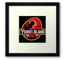 Jurassic Park - Yoshi's Island Framed Print