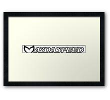 Evil Mazdapeed Framed Print