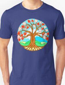 Heart Tree of Life Mandala Unisex T-Shirt