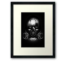 Metal Apocalypse - Black and White Framed Print