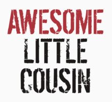 Awesome Little Cousin Kids Tee