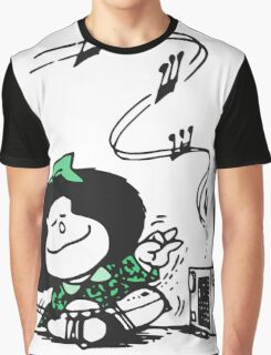 Mafalda Music Graphic T-Shirt