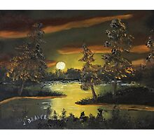 Headwaters Sunset Photographic Print