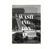 City Series (Washington DC) Art Print