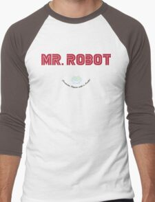Mr Robot Men's Baseball ¾ T-Shirt