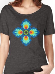 Folklore Rythmes Kaleidoscope Women's Relaxed Fit T-Shirt