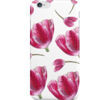 tulip pattern iPhone Case/Skin