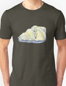 polar bear and young bear T-Shirt
