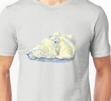 polar bear and young bear Unisex T-Shirt