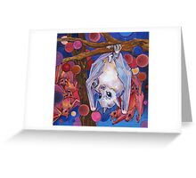 Dayak fruit bats Greeting Card