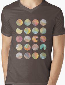 Colored World Mens V-Neck T-Shirt