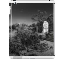 Lonely grave iPad Case/Skin