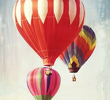 Hot Air Balloon Trio by Leah Gunther