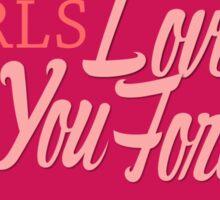 Yandere Girls Love You Forever Sticker