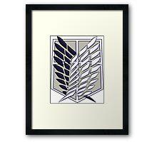 Shingeki no Kyojin Framed Print