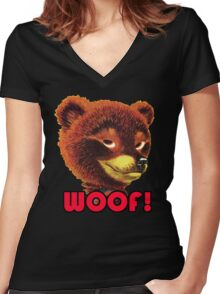 Sexy Bear Women's Fitted V-Neck T-Shirt