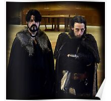 Mordred and Agravaine at Camelot Poster