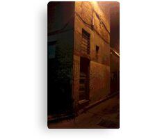Mysterious Building in Laneway Canvas Print