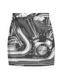 Heavy Metal Mini Skirt