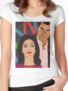 Dynamic duo Women's Fitted Scoop T-Shirt
