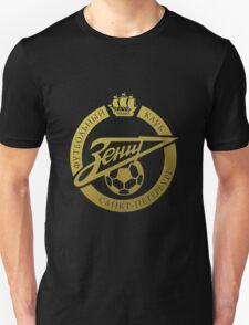 Zenit Saint Petersburg FC golden logo T-Shirt