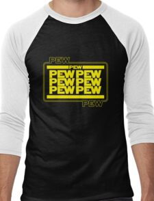 PEWPEW Men's Baseball ¾ T-Shirt