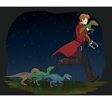 Dino Thief Photographic Print