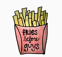 Fries Before Guys Watercolor Unisex T-Shirt