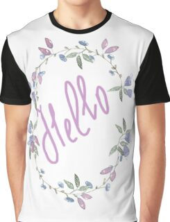 wreath blueberry  Graphic T-Shirt