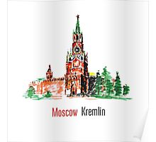 Kremlin, Red Square, Moscow, Russia Poster